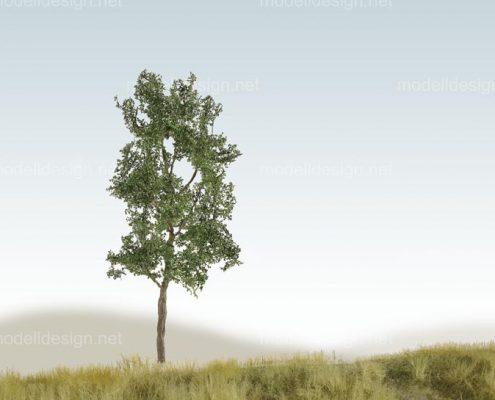 Modellbaum schmal Laubbaum dunkelgruen