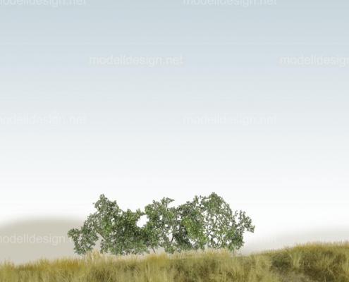 Modellbaum strauchig Staeucher dunkelgruen