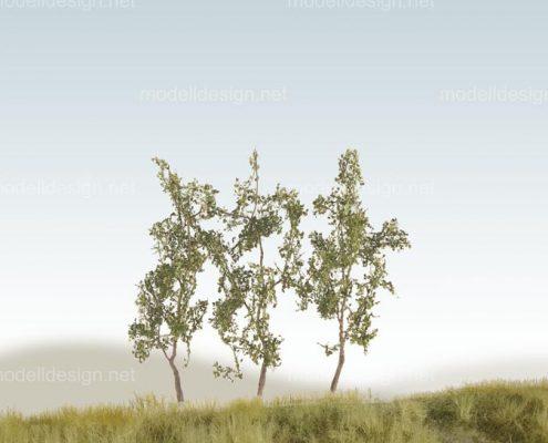 Modellbaum schmal Jungwuchs mittelgruen